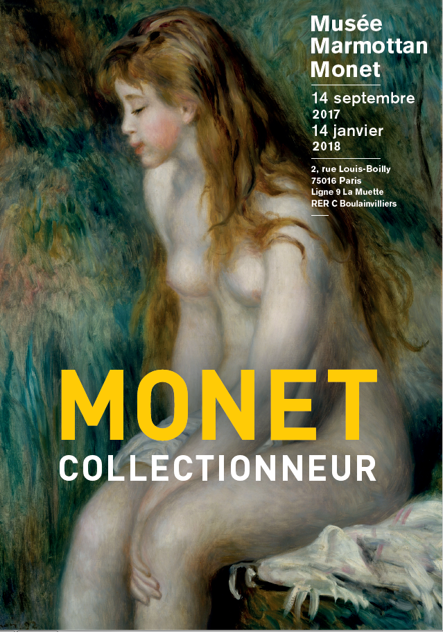 Monet collectionneur  du14 septembre 2017 au 14 janvier 2018 musée Marmottan Paris