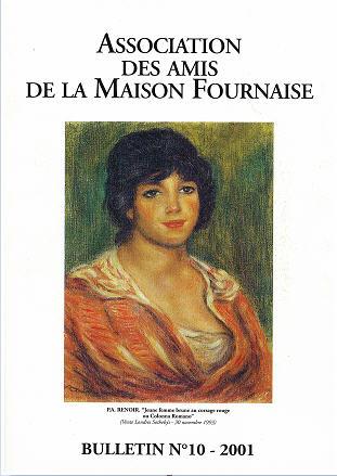 couverture du bulletin numéro 10 des amis de la maison Fournaise Chatou