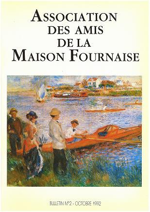 le bulletin numéro 2 des amis de la maison Fournaise Chatou