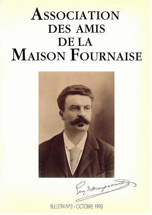 couverture du bulletin numéro 3 des amis de la maison Fournaise Chatou