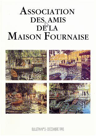 couverture du bulletin numéro 5 des amis de la maison Fournaise Chatou