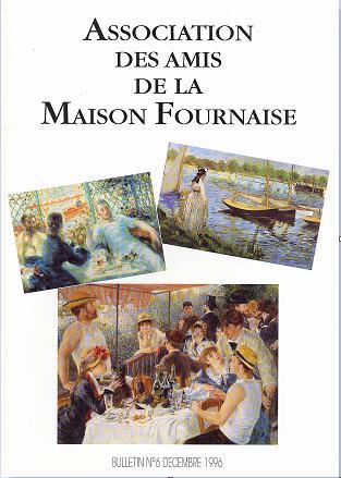 couverture du bulletin numéro 6 des amis de la maison Fournaise Chatou