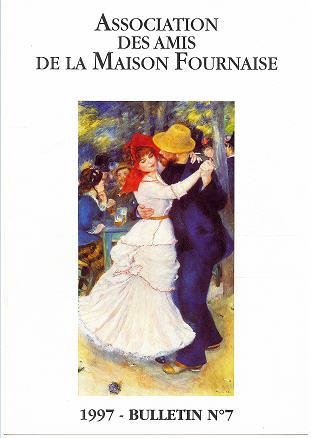 couverture du bulletin numéro 7 des amis de la maison Fournaise Chatou