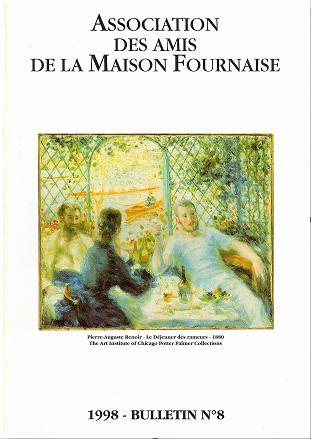 couverture du bulletin numéro 8 des amis de la maison Fournaise Chatou