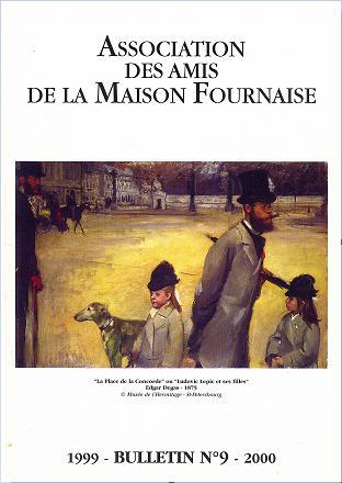 couverture du bulletin numéro 9 des amis de la maison Fournaise Chatou