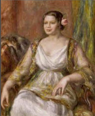 Tilla Durieux 1914  Renoir Metropolitan Museum New York USA
