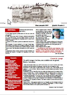 amis de la maison Fournaise gazette n°3