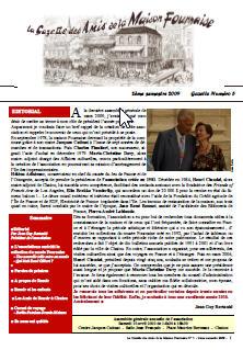 amis de la maison Fournaise gazette n°5