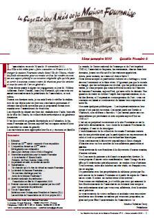 amis de la maison Fournaise gazette n°6