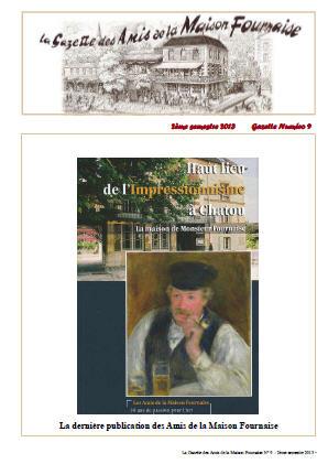 amis de la maison Fournaise gazette n°9