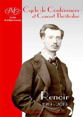 Téléchargement du programme des conférences et concerts Renoir 2019