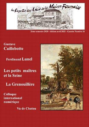 Chatou amis maison fournaise Gazette N° 16